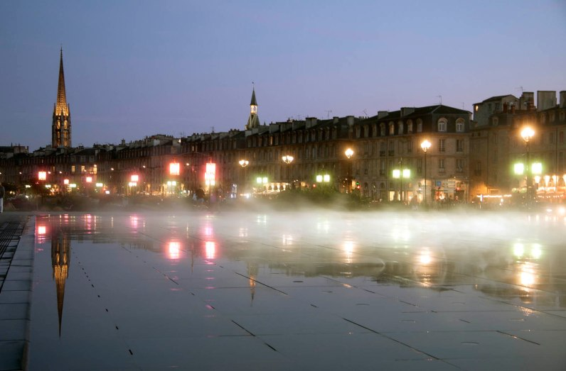 France, Bordeaux, Miroir d'eau (Water Mirror) by Jean Marc Llorca, 2006