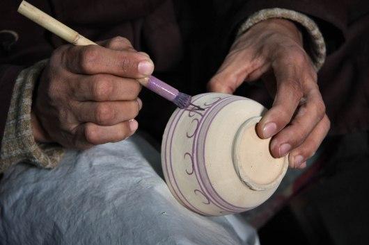 Morocco, Fes, ceramics