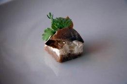Sweden, Lappland, smoked herring