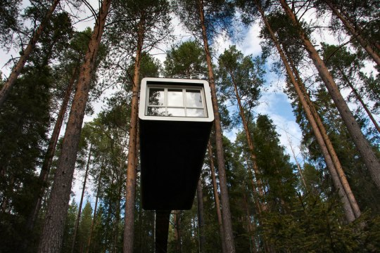 Sweden, Lappland, Norbotten, Harads, Treehotel