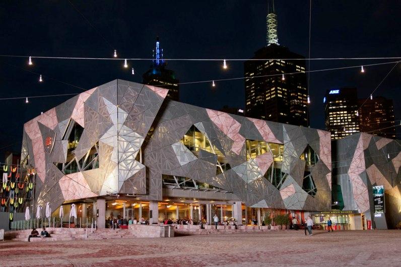 Australia, Victoria, Melbourne, Fed Square