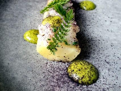 Iceland, Reykjavik, restaurant dill, salted cod and rutabaga