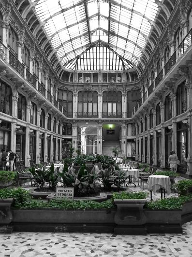 Italy, Turin, Subalpina eclectic passage