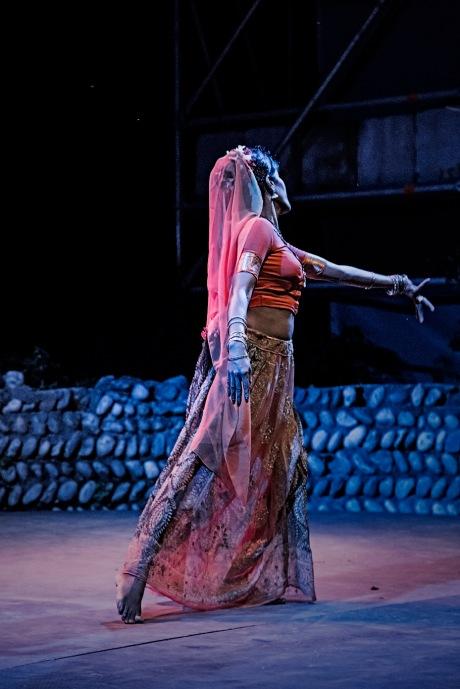 Italy, Turin, Bollywood dances