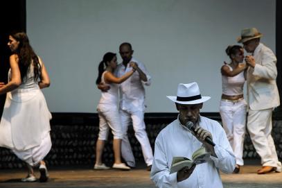 Italy, Turin, Circolo dei Lettori, Etno tango Festival, tango dance and reading