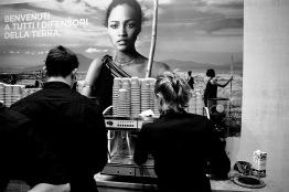 Italy, Turin, Salone del Gusto-Terra Madre 2014, Lavazza stand