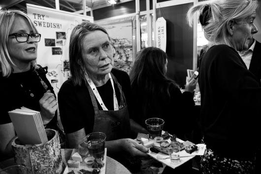 Italy, Turin, Salone del Gusto-Terra Madre 2014, Swedish stand
