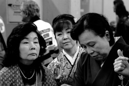 Italy, Turin, Salone del Gusto-Terra Madre 2014, Japanese Ladies shopping