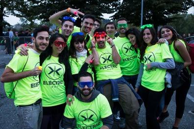 Italy, Turin, Parco Dora, Electric Run 2014