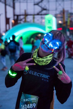 Italy, Turin, Parco Dora, Electric Run 2014