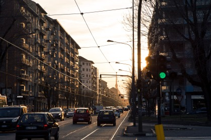 Italy, Piedmont, Turin, westward