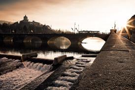 Italy, Piedmont, Turin, Po River