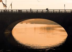 Italy, Piedmont, Turin, Vittorio Emanuele bridge