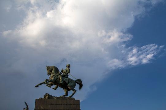 Italy, Piedmont, Turin, Equstrian Monument to Amedeo of Savoia-Aosta (Calandra, 1902)