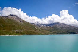 Italy-France, Montcenis pass and lake