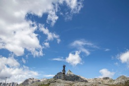 Italy, Aosta Valley, Great Saint Bernard Pass, Pain de Sucre (2900 m)