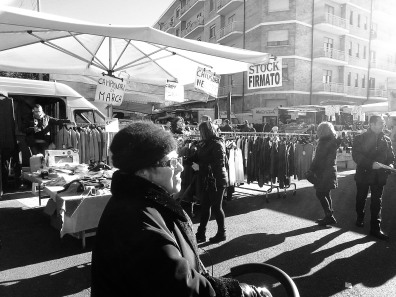 Italy, Piedmont, Market, late november