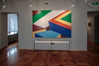 Italy, Aosta Valley, Chatillon, Museo Castel Gamba, Peter Stampfli, Zero, 1984