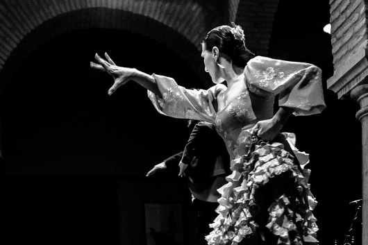 Spain, Sivilla, Museo del Flamenco, flamenco dancers