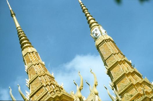 Cambodia, Phnom Penh, Royal Palace, 2001