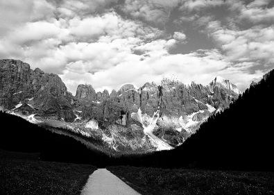 Italy, Trentino, Parco naturale di Paneveggio, Pale di San Martino, Val Venegia